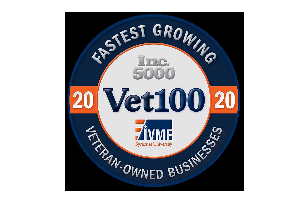 Invictus Ranks 7th on Inc 5000's IVMF Vet100 List